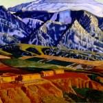 Ernest Blumenschein, Mountains Near Taos, 1926-1934