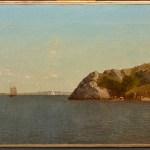 John Frederick Kensett, Newport, Rhose Island (Beacon Rock), 1872