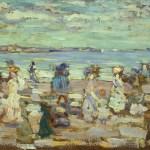 Maurice Brazil Prendergast, Beach Scene, c. 1907-1910