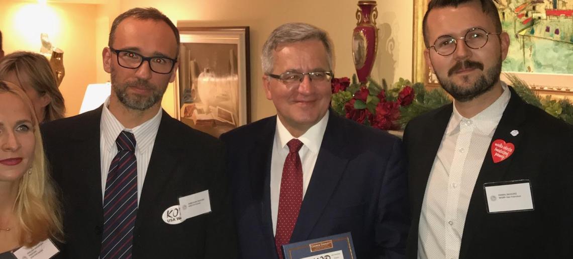 Prezydent Bronisław Komorowski w San Francisco – relacja ze spotkania