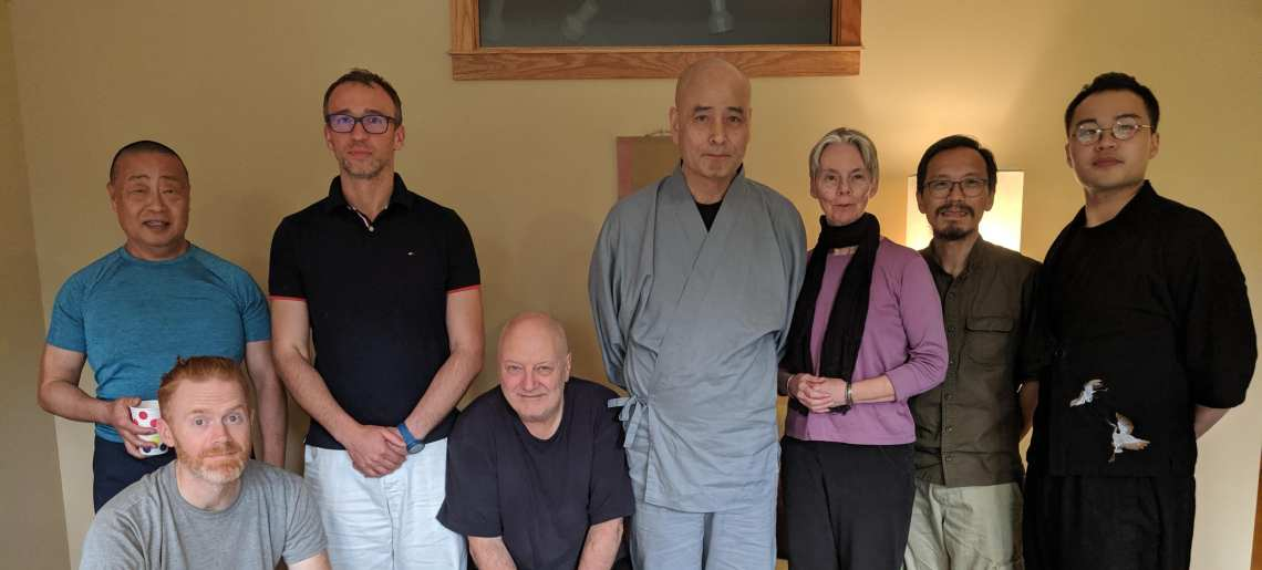 Sesshin at Sanshin in Indiana