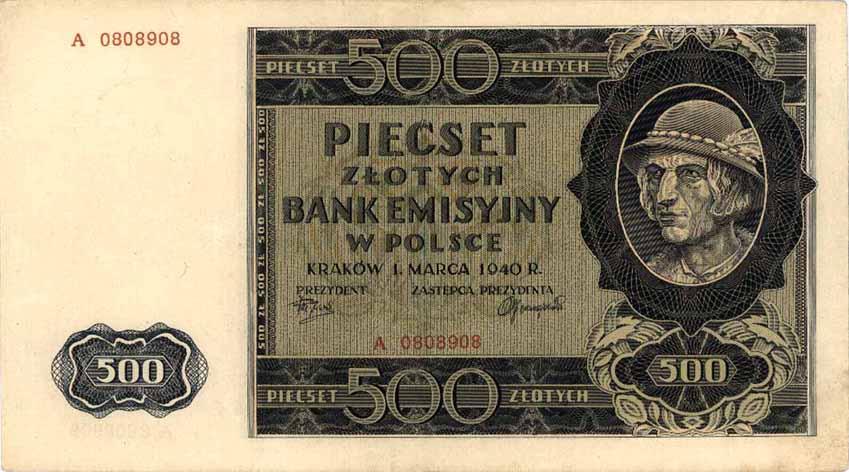 500_zł_1940_awers