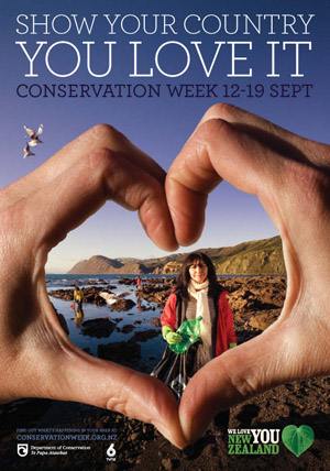 Show your country you love it - Conservation Week poster