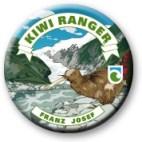 Franz Josef Kiwi Ranger badge.