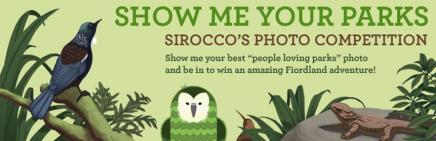 "Sirocco's ""Show Me Your Parks"" contest banner image."