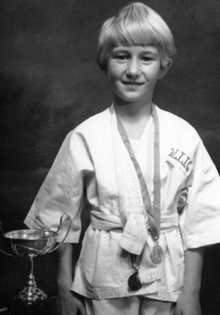 Te Atatu judo champ aged six.