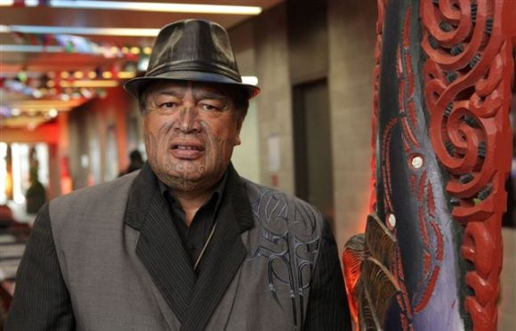 Joe Harawira at the Maori Market in 2011.