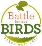 Battle for our Birds - Beech mast 2014
