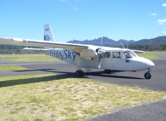 Plane to catch to Great Barrier Island.