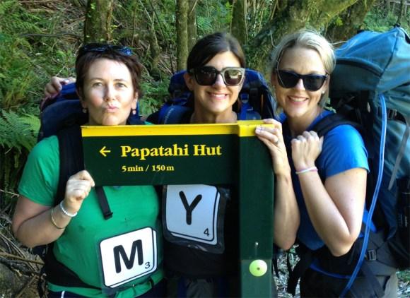 Five minutes to Papatahi Hut.