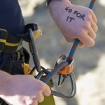 Climbing harness. Photo courtesy: Outward Bound.