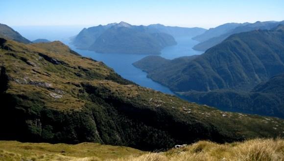 Secretary Island in Fiordland.
