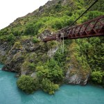 Kawarau Gorge Suspension Bridge.