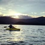 Kayaking. Robinson's Bay. Photo: @michelleluciad   instagram.
