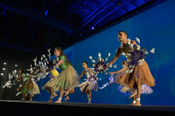 Entertainment at the opening ceremony. Photo courtesy World Parks Congress.