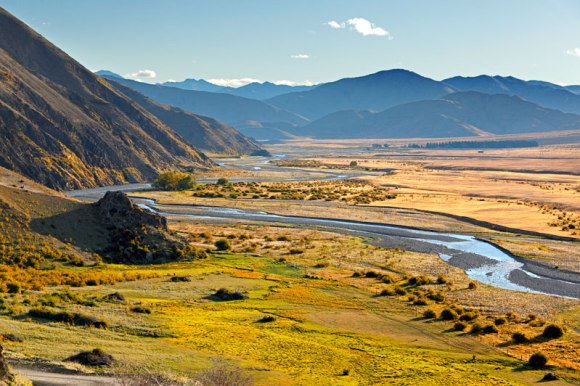 Flat and Upper Acheron River, Molesworth Station. Photo copyright Rob Suisted.