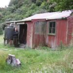 Favourite haunt the old Dillons homestead in the Taipo Valley.