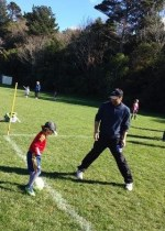 abhishek-football-with-the-little-one