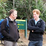 Brent Beaven and Prince Harry at Sydney Cove