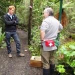 Ranger Phred explains rat trap