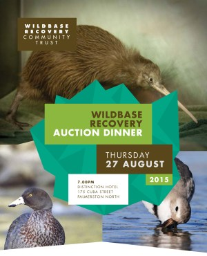 Wildbase Auction Dinner.