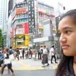 Twelve year old Tomairangi Harvey in Tokyo.