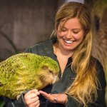 Liz (Young Adventuress) meets Sirocco at Zealandia