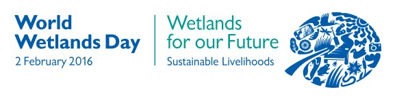 World Wetlands Day 2016 logo.