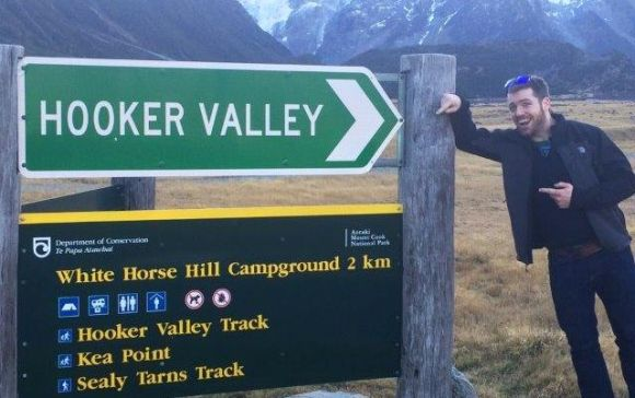Paul McGee in the Hookey Valley.