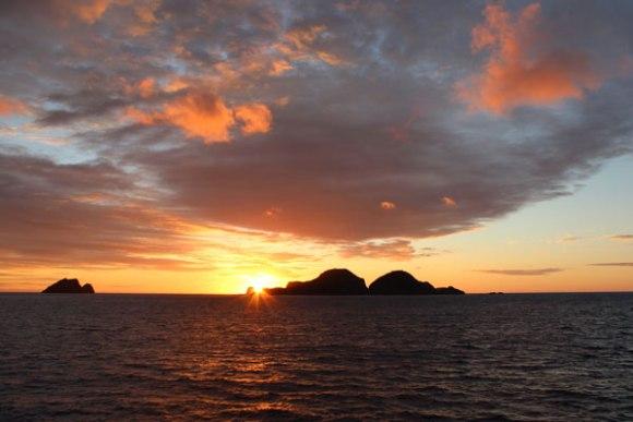 Sunrise over Meyer Islands. Photo: Sarah Wilcox