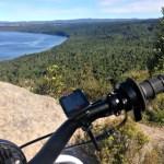 Taking in the view of Kawakawa Bay, Lake Taupo.