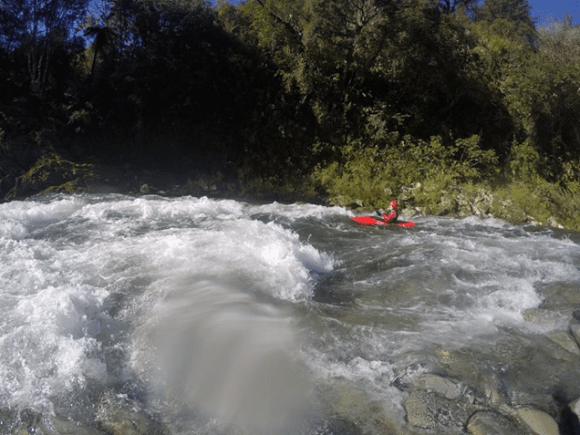 Whitewater kayaking Wakamarina Valley, Canvastown.
