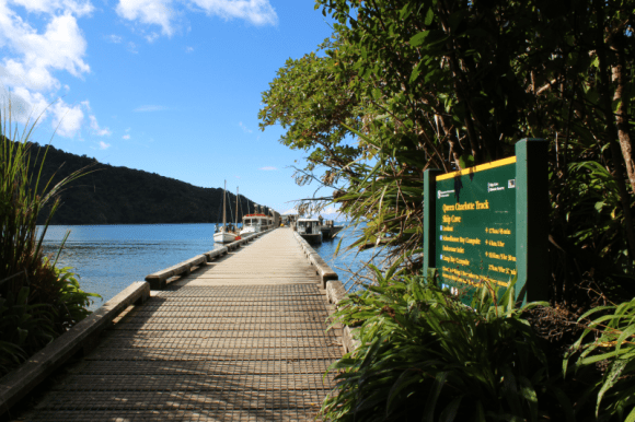 The Queen Charlotte Track.