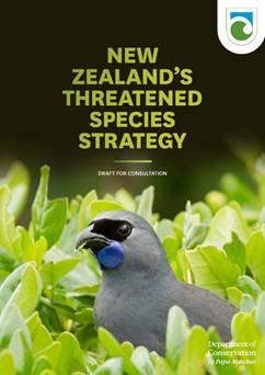Draft Threatened Species Strategy.