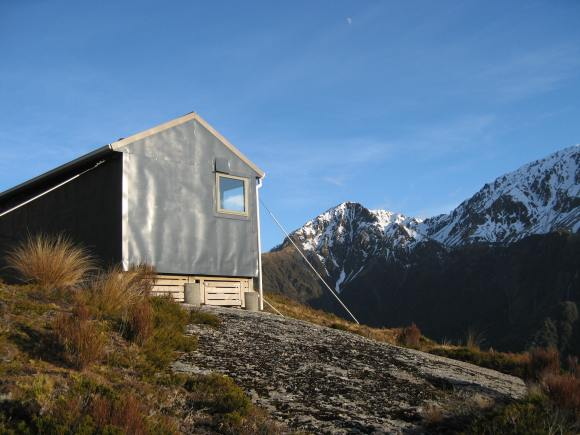 Bluff Hut, West Coast. Photo: Brian Dobbie