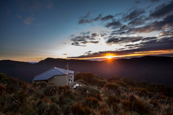 Ces Clark Hut. Photo: Neil Silverwood ©.