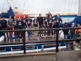 Team on Evohe ready to head to Antipodes. Photo: Million Dollar Mouse