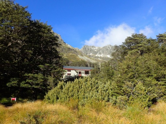 Upper Travers Hut.