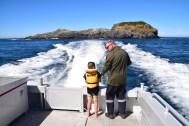 On board the Hananaui. Photo: Jennifer Ross (DOC)
