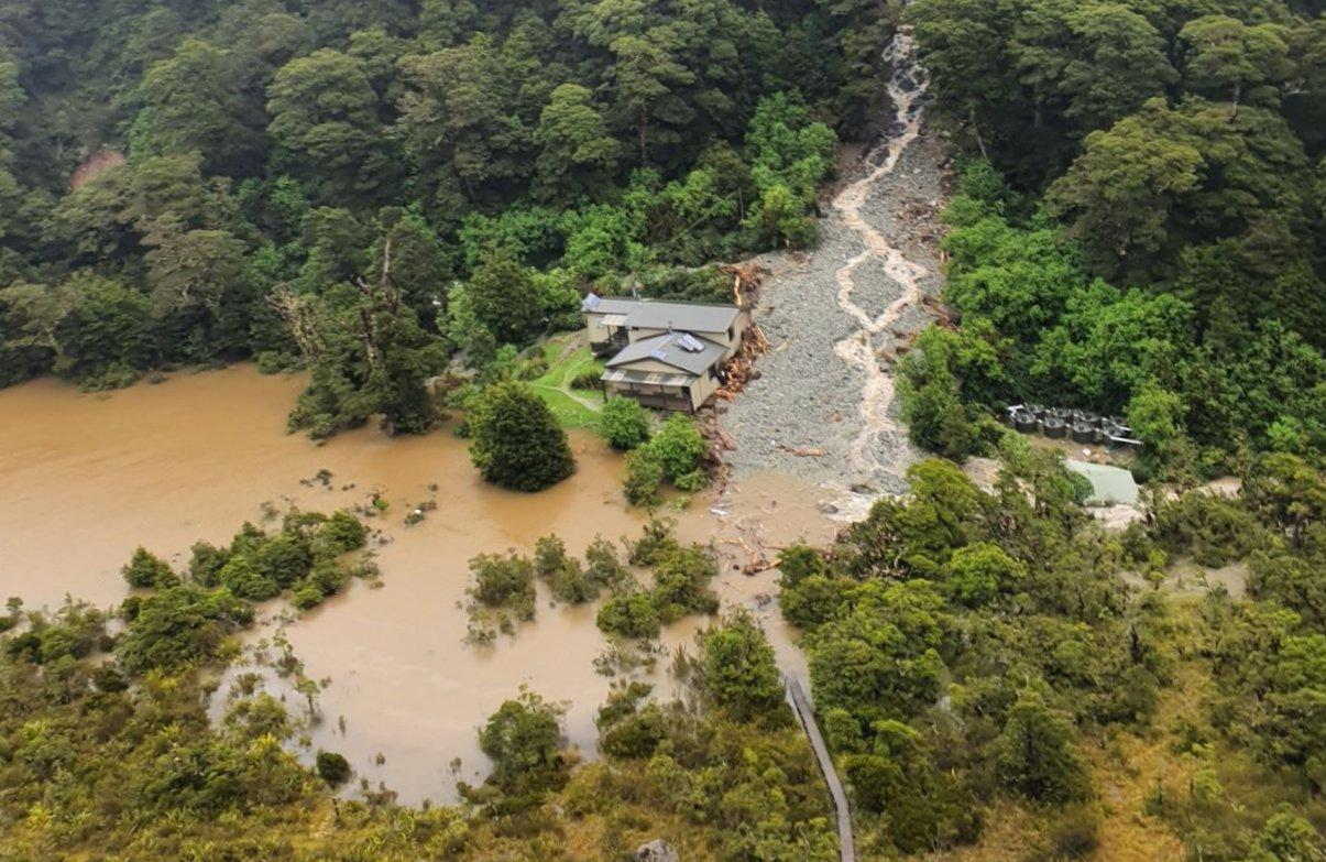 What the Floods in Fiordland Showed us about Climate Change