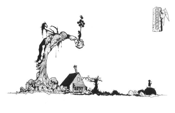 Sven Grabow, 'What to Throw at When the Glasshouse is Missing', ink on permatrace