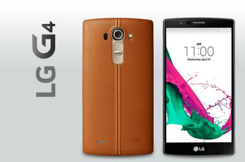 Llega el LG G4 con carcasa de cuero y una cámara espectacular