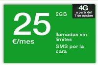 Amena incorpora 4G a su Tarifa 25