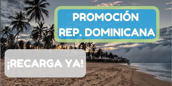 ¡Nuevas promociones para recargas de República Dominicana!