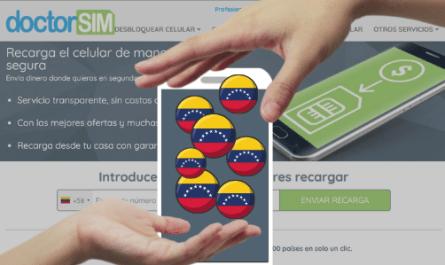 Recargas saldo Venezuela