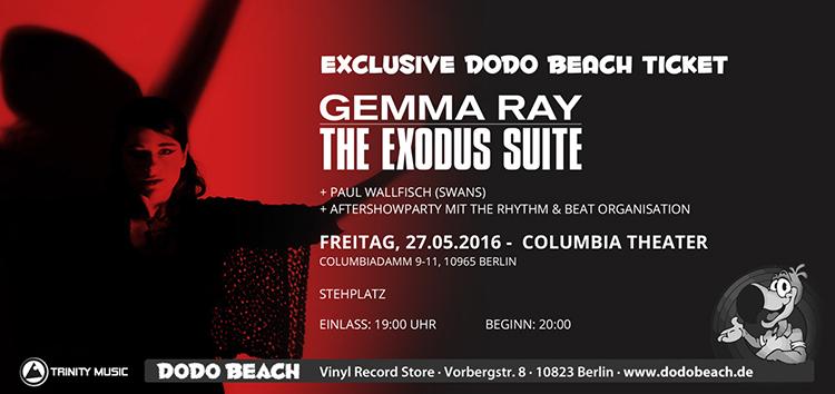 Gemma Ray - The Exodus Suite im Dodo Beach Fanpaket