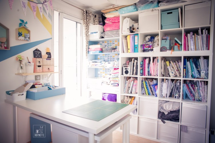 Organiser son atelier couture le dody blog for Meuble atelier couture