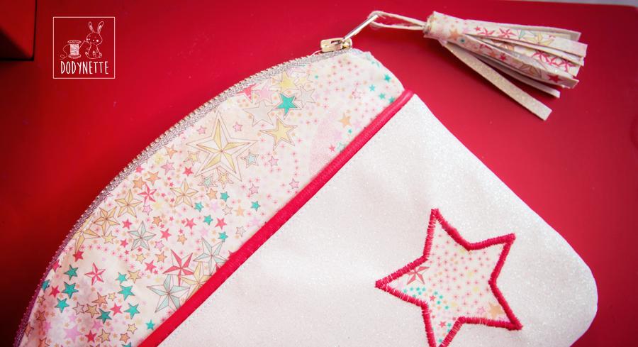 Tuto couture : la pochette Candy multi-poches