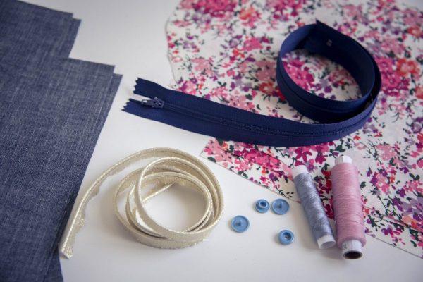Réalisez un projet couture en pas à pas