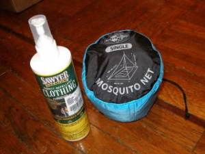Permethrin + Mosquito Net
